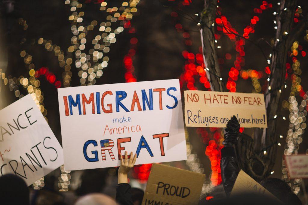 American Immigrants Spying
