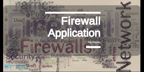 Firewall Application For Security