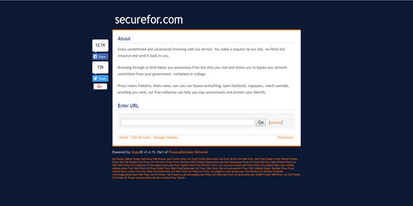 SecureFor