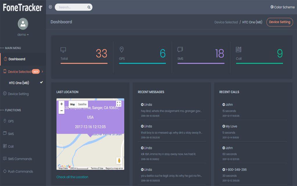 FoneTracker App